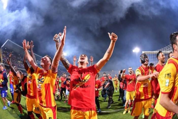 Il Benevento promosso in Serie A