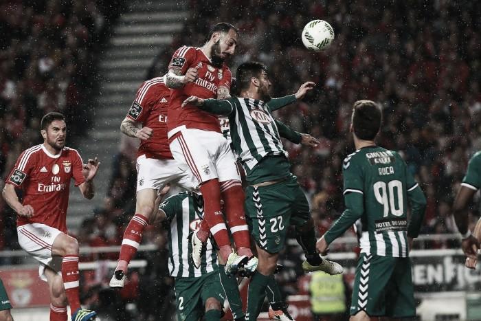Benfica x Vitória de Setúbal: Samba das águias de volta à liderança