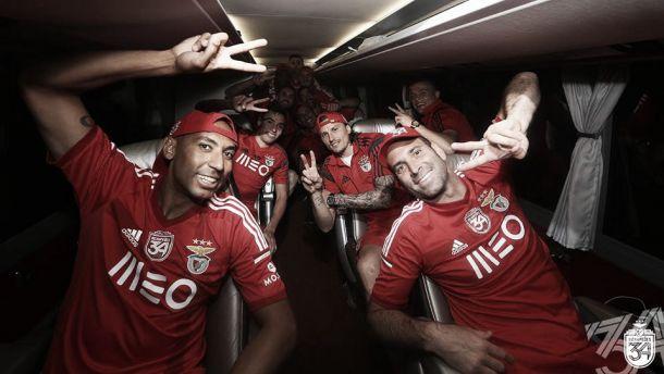 Benfica celebra: Habemos Campeão Nacional!