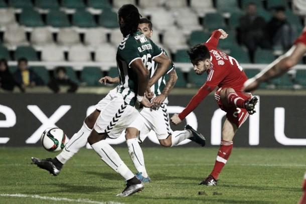 Quinta vitória seguida na Liga: Benfica em crescendo cumpre no Bonfim