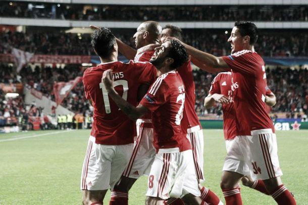 Consistência, solidez e solidariedade - eis o Benfica da 'Champions'