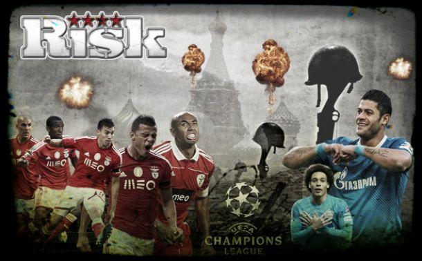 Zenit x Benfica: jogo de risco na luta pela Europa dos milhões