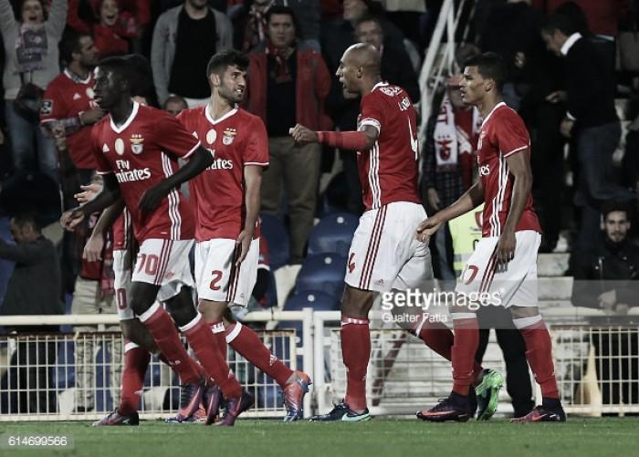 1º Dezembro x Benfica: Ao 1º Dezembro, só nas últimas