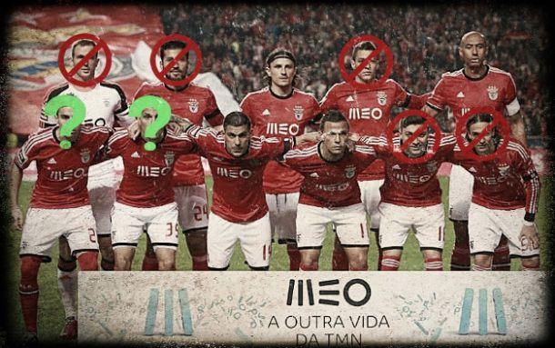 Benfica 2014/2015: A debandada do onze campeão?