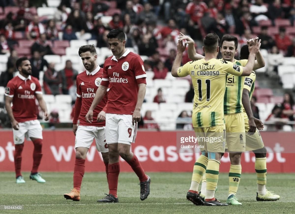 Fim do sonho: Benfica perde em casa com o Tondela