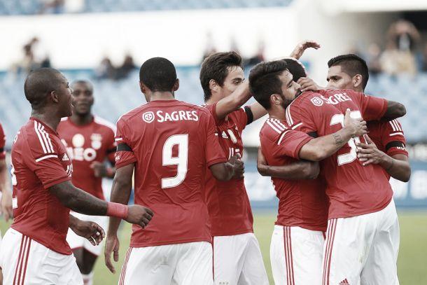Talisca coloca o Benfica na Final da Taça de Honra