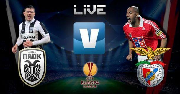PAOK x Benfica directo  e a vivo