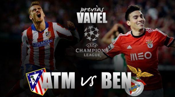 Resultado Atlético Madrid x Benfica na Liga dos Campeões 2015 (1-2)