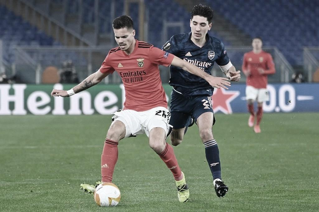 El Arsenal rescata un buen empate ante el Benfica