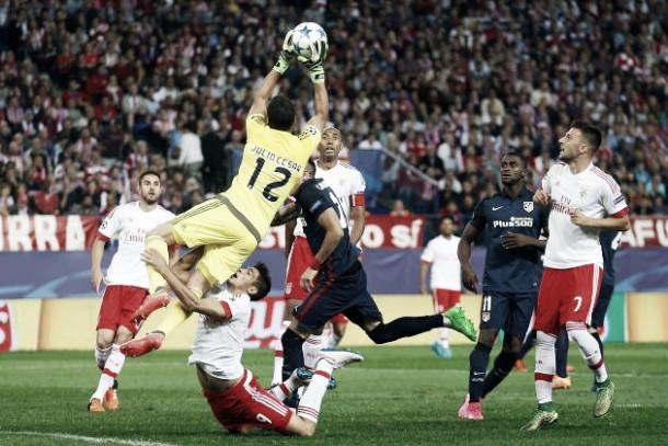 Benfica-Atletico Madrid, caccia al primo posto nel gruppo C