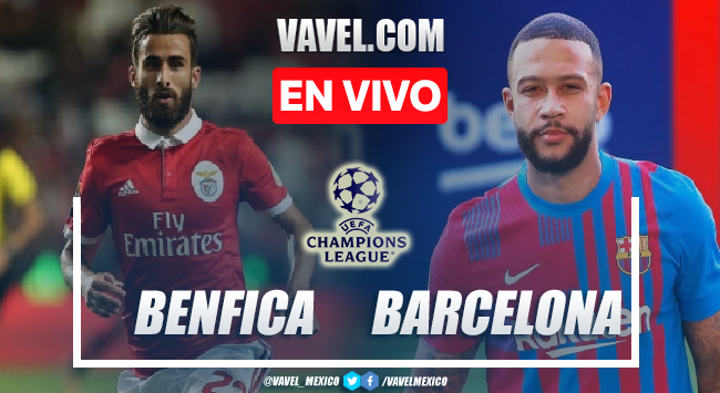 Resumen Benfica vs Barcelona (3-0)