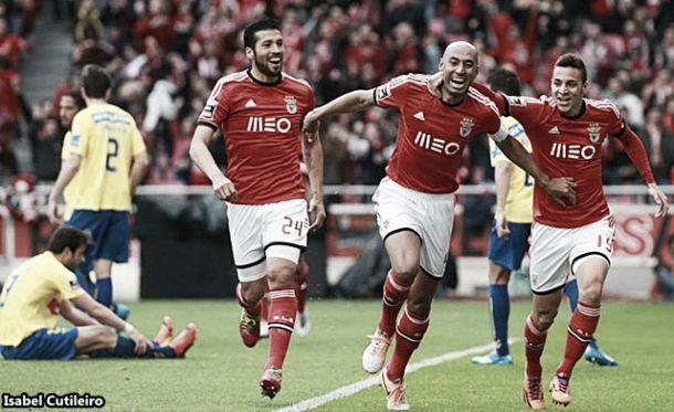 Benfica a 8 jogos do título de campeão