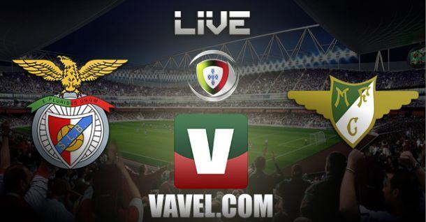 Benfica vs Moreirense en vivo y en directo online
