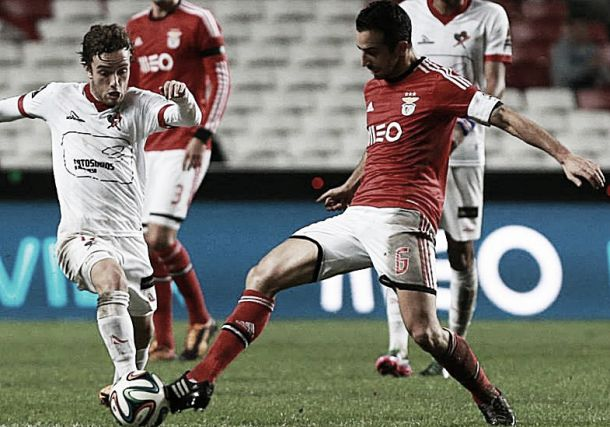 Benfica vence Leixões e qualifica-se para as meias da Taça da Liga