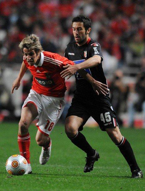 Benfica x Braga, semifinal de la Europa League