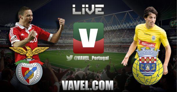 Benfica x Arouca, directo online e ao vivo