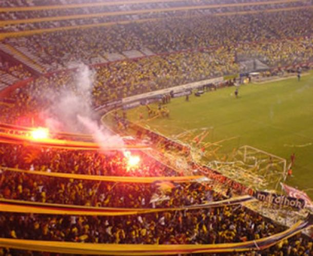 Se prohiben ingresos de bombos, bengalas y banderas a los estadios