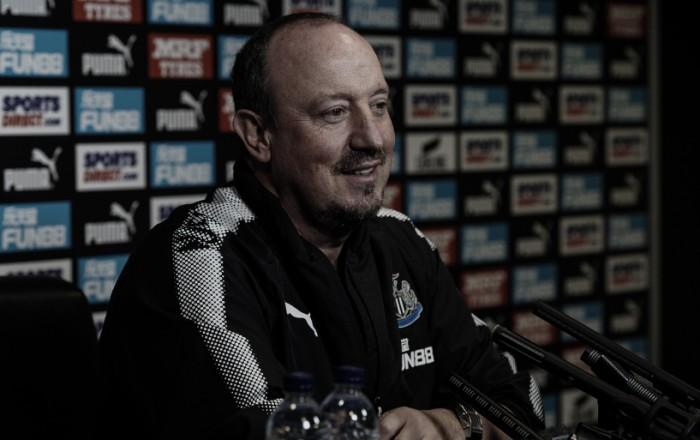 Rafa Benítez: ''No tenemos ninguna presión e intentaremos obtener algún punto''