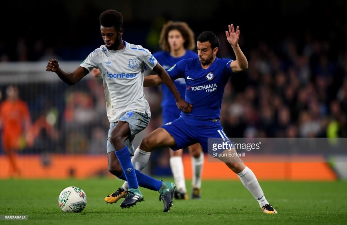 Beni Baningime looking for more first-team action following Everton debut