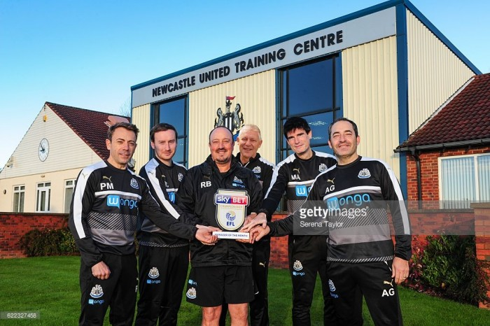 Rafa Benitez awarded Championship Manager of the Month