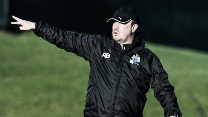 """Rafael Benitez: """"Vamos a tratar de ganar, avanzar y llegar lo más lejos posible"""""""
