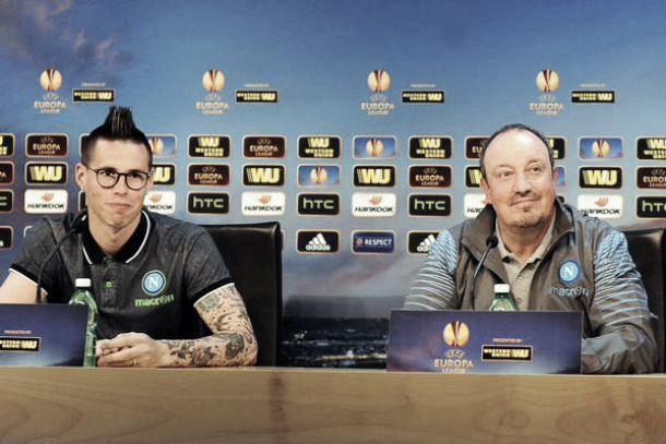 """Benitez dribbla le polemiche e pensa alla gara: """"Bisogna far gol. Giochiamo sempre per vincere"""""""