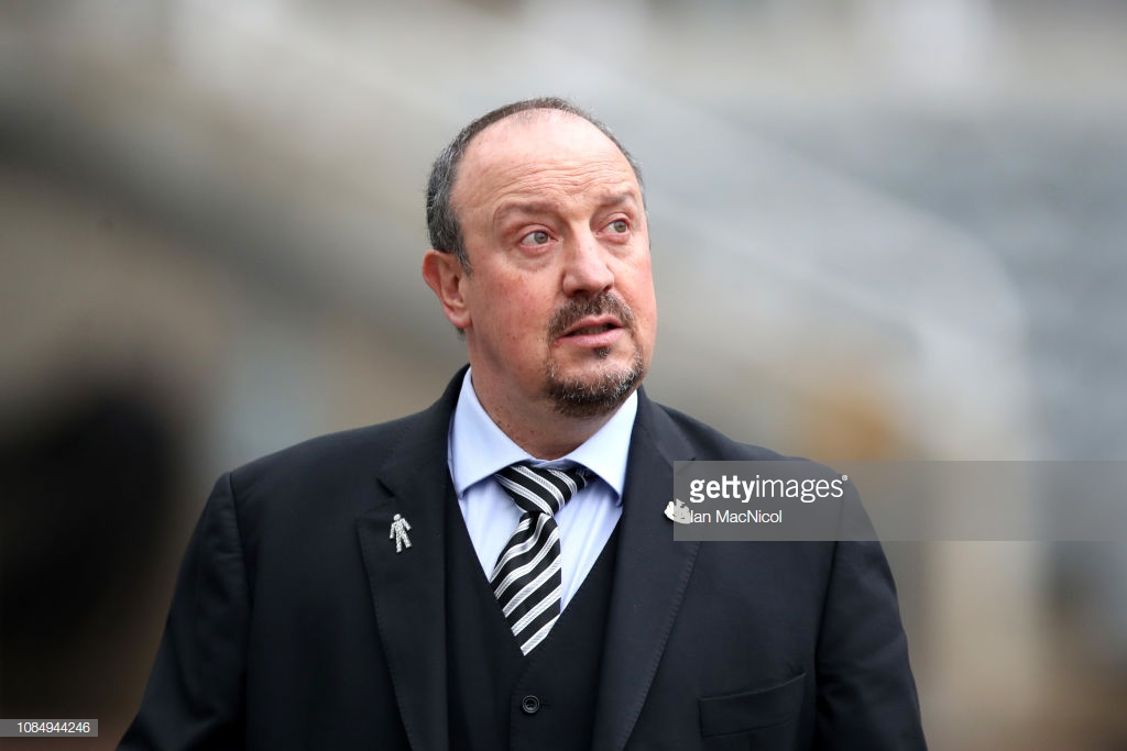 Rafa Benitez not able to guaranteehe will be in charge after the transfer window
