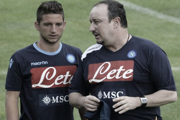 "Benitez: ""Mertens? Difficile per domenica"""
