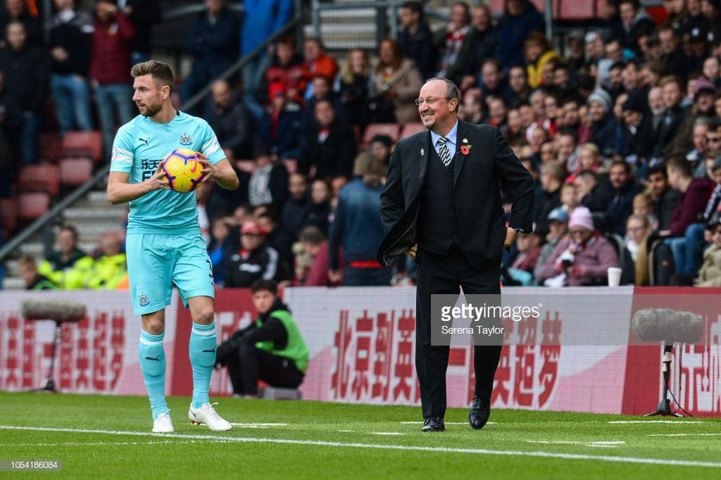 Rafa Benitez believes it was 'more positive than negative' against the Saints