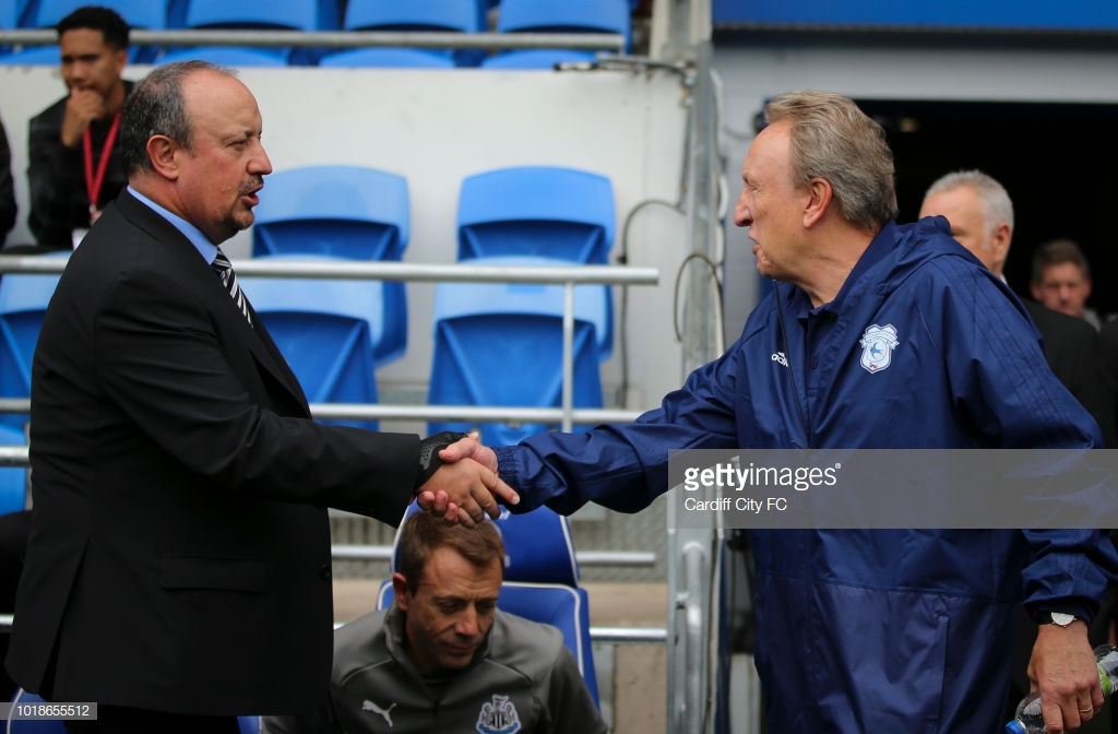 Merson claims Benitez could not do the job Warnock has at Cardiff