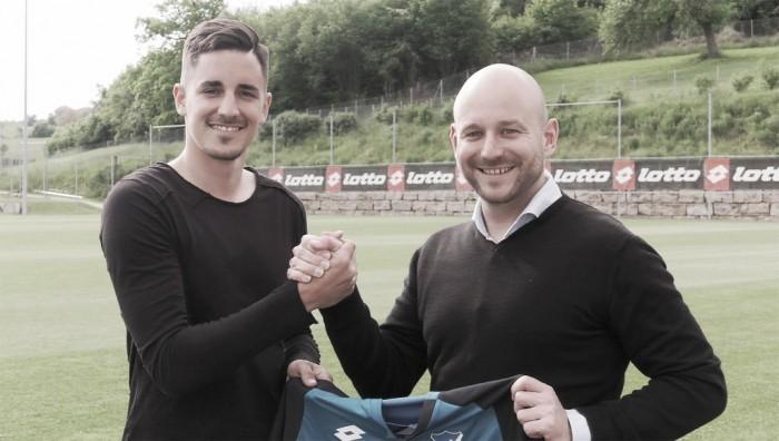 Zagueiro Hübner troca Ingolstadt pelo Hoffenheim e reforça clube por quatro anos