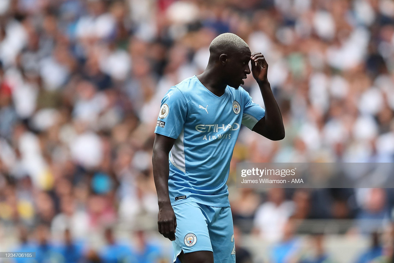 Manchester City suspend Benjamin Mendy following police charges