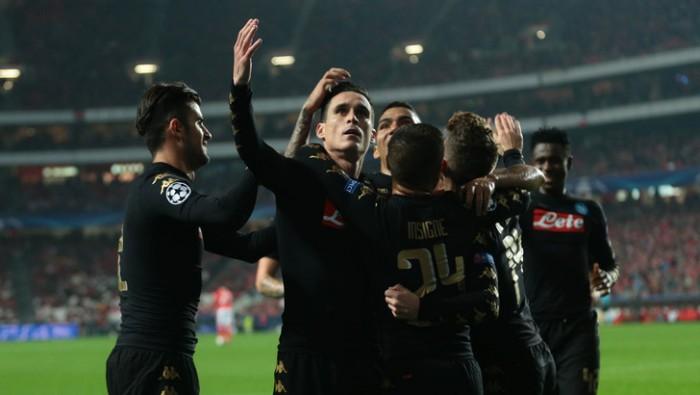 Champions League - Napoli sontuoso a Lisbona: le pagelle degli azzurri