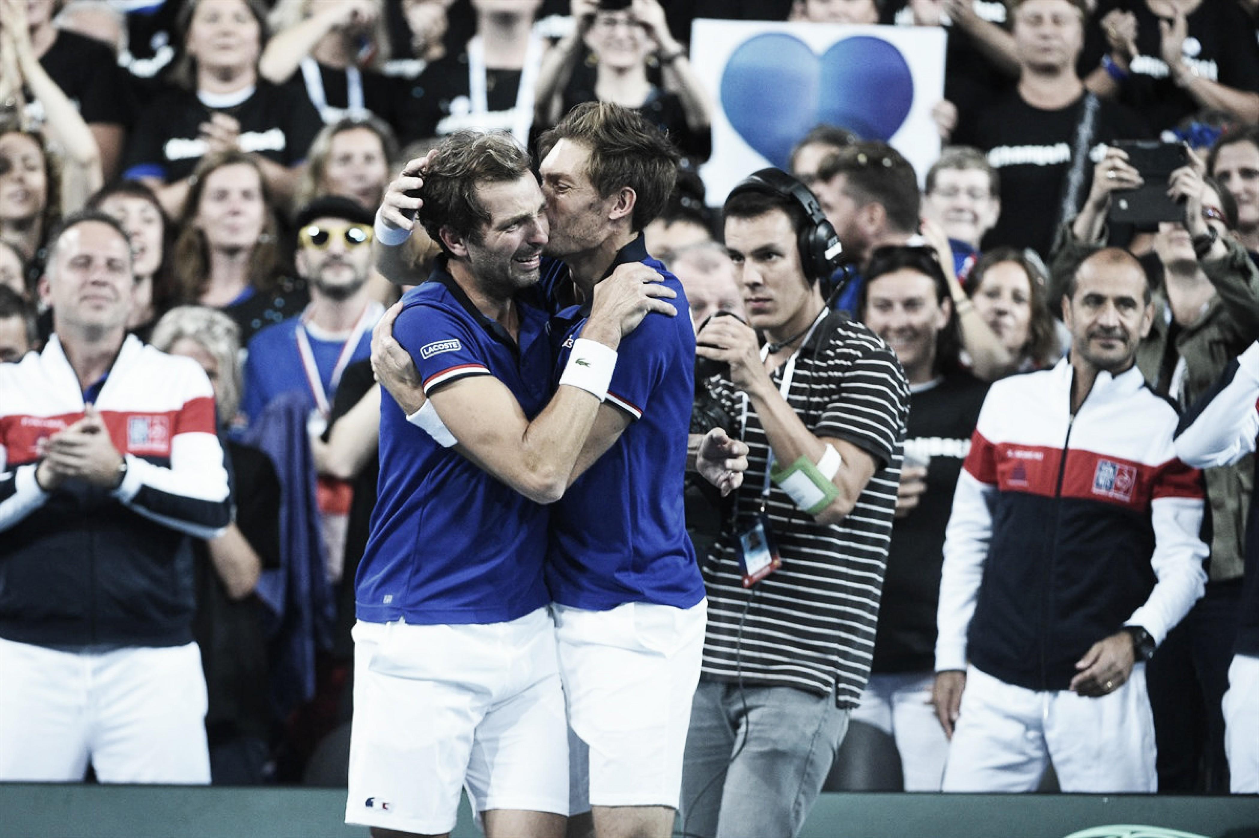 Em momento histórico, França elimina Espanha e avança à final da Davis