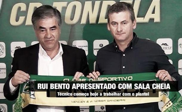 Tondela: Vitor Paneira sai, entra para o seu lugar Rui Bento