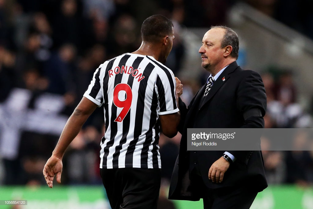 Rafa Benitez acknowledges very good day for Newcastle