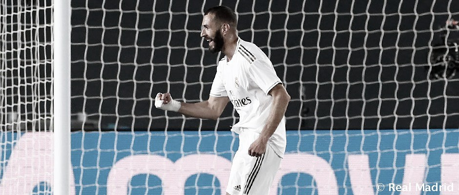 Benzema sigue superándose