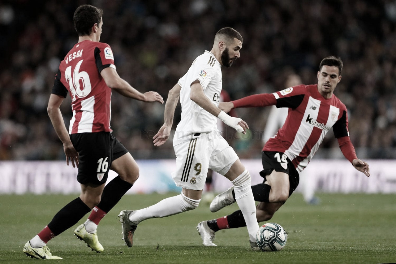 Athletic Club vs Real Madrid EN VIVO y en directo online en LaLiga Santander 2020