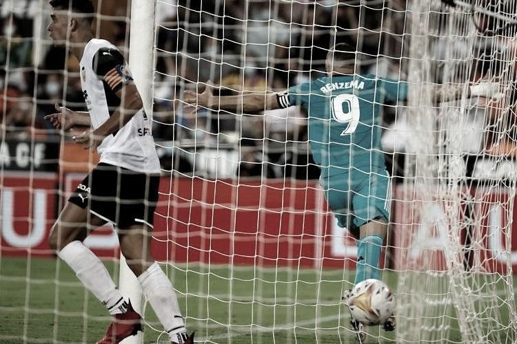 Vinicius Junior e Benzema garantem virada emocionante do Real Madrid na casa do Valencia