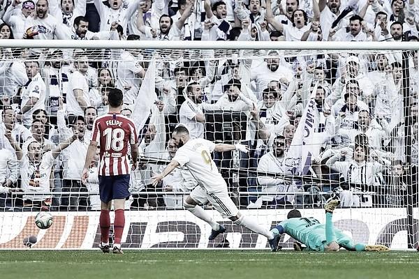 El Madrid se impone en el derbi