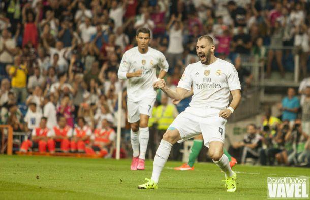 """Benzema: """"Con el partido de hoy demostramos lo que podemos hacer"""""""