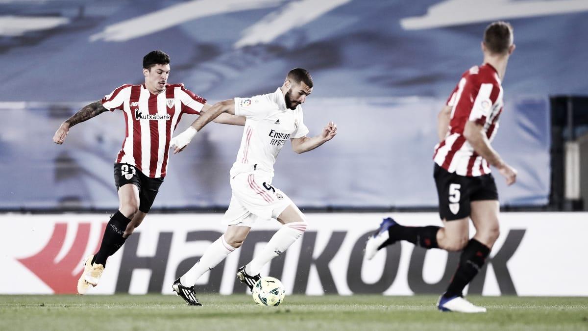 Benzema: «Un delantero tiene que meter con todo»