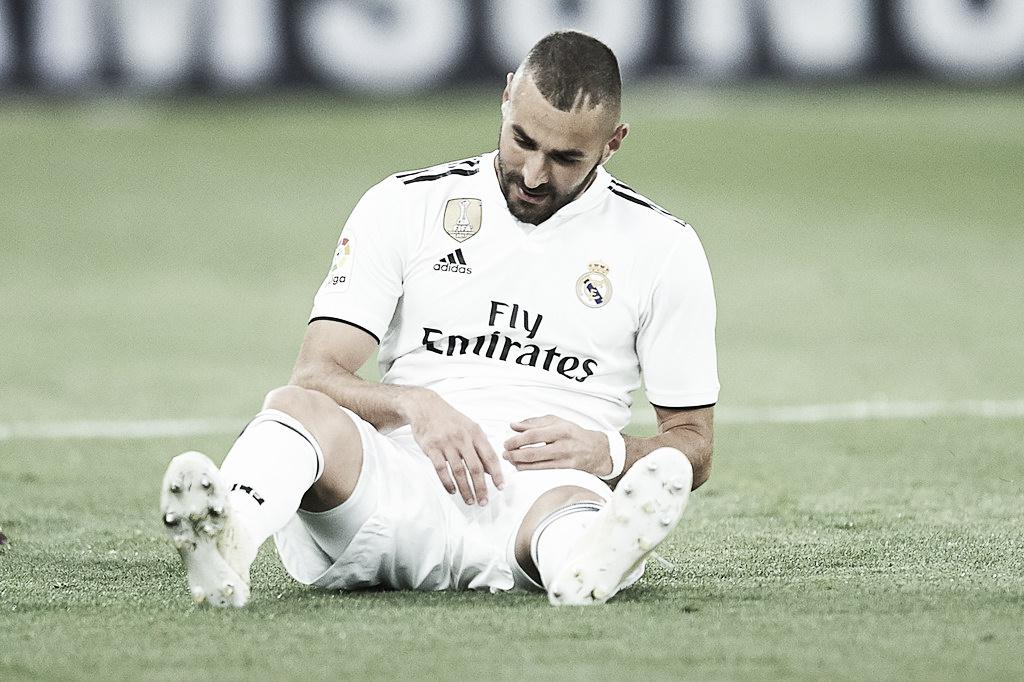 Benzema sofre lesão e preocupa Real Madrid pela La Liga