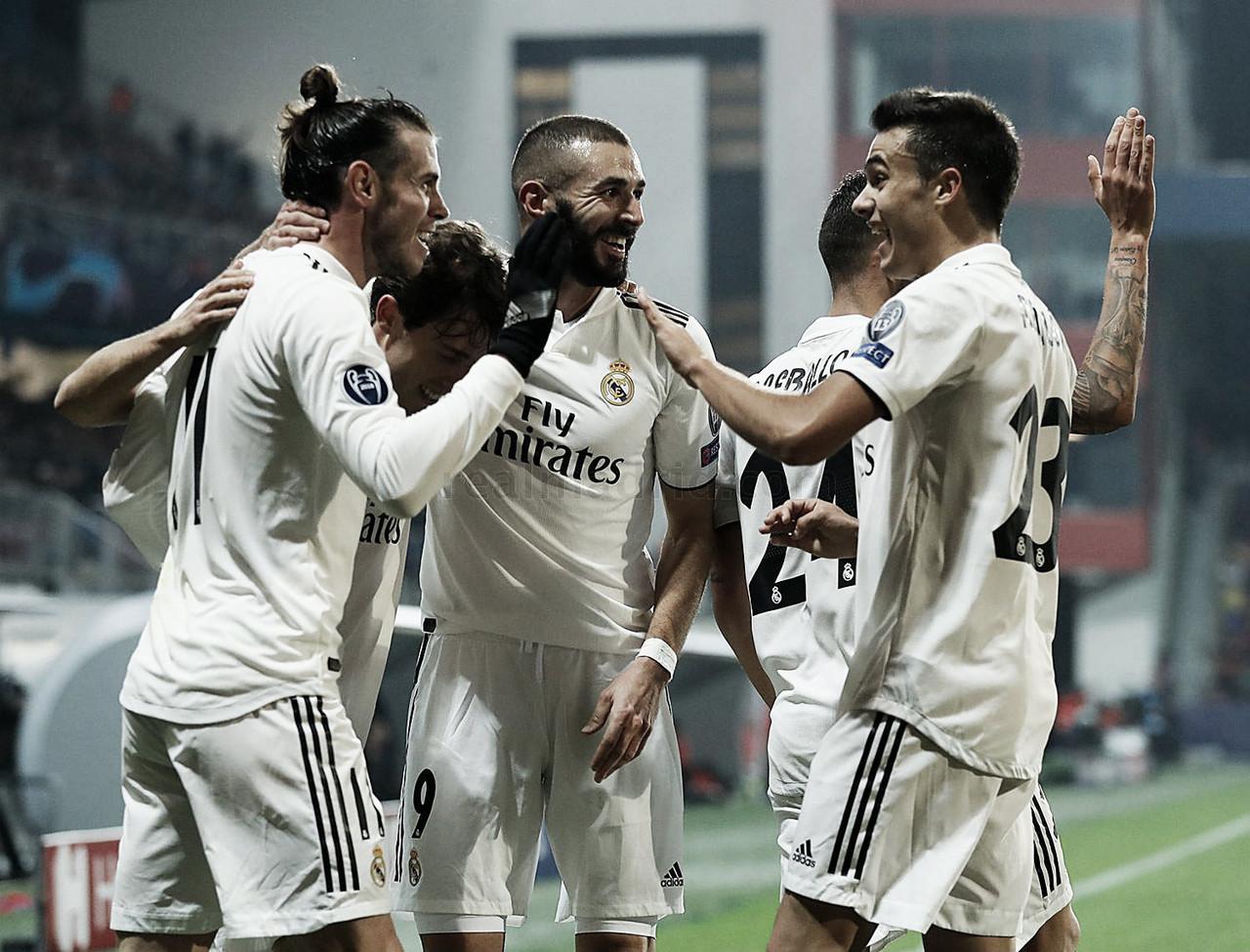 Solari espabila al Real Madrid y a Benzema