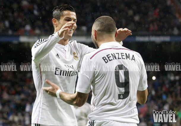 Benzema y Cristiano, lesionados, no viajan a Alemania