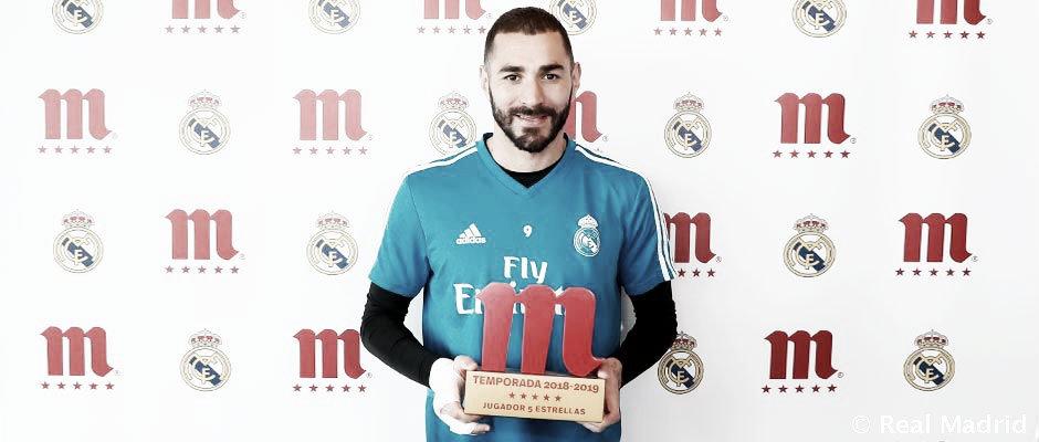 Benzema se proclama Jugador Cinco Estrellas Mahou del año