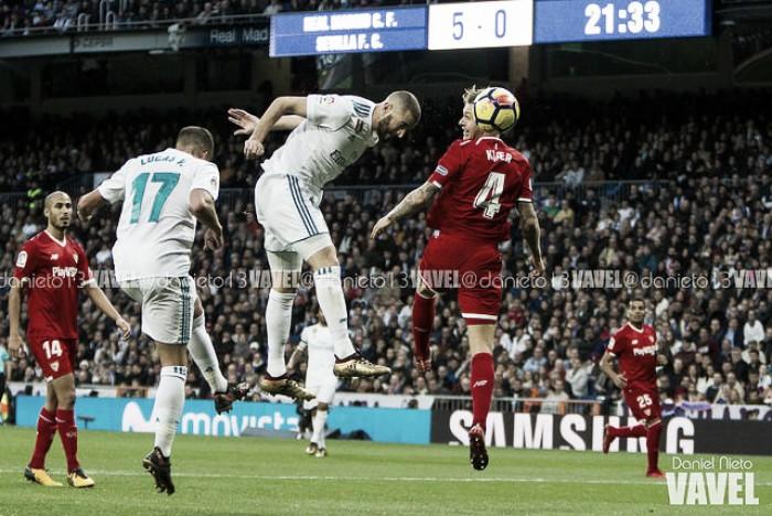 El palo, la mejor defensa contra el Real Madrid