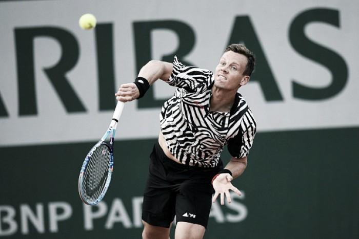 Roland Garros: Djokovic e Berdych confirmam favoritismo; Tsonga abandona