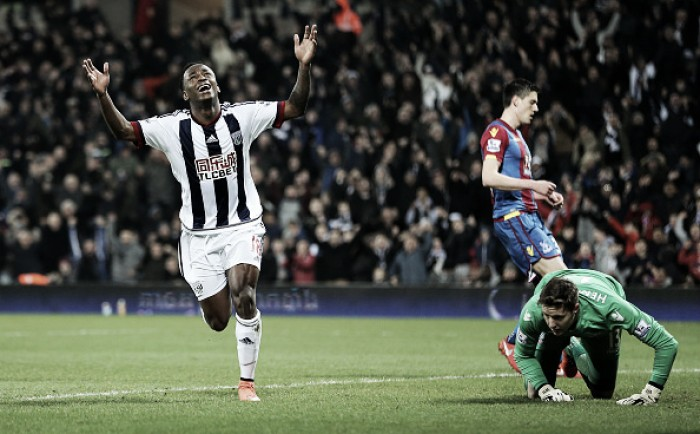 West Bromwich Albion 3-2 Crystal Palace: Baggies edge Hawthorns thriller