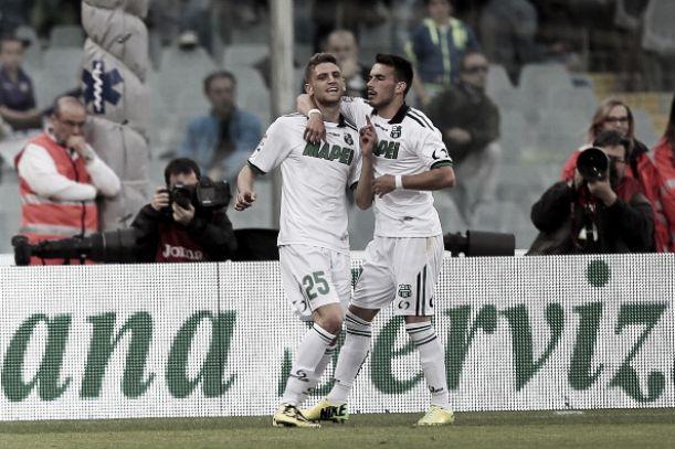 Com tripletta de Berardi, Sassuolo bate a Fiorentina fora de casa